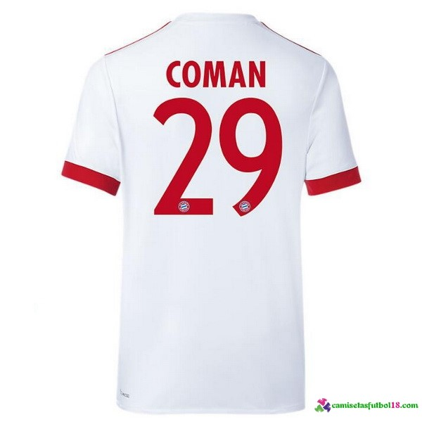 Coman Camiseta 3ª Kit Bayern Munich 2017 2018